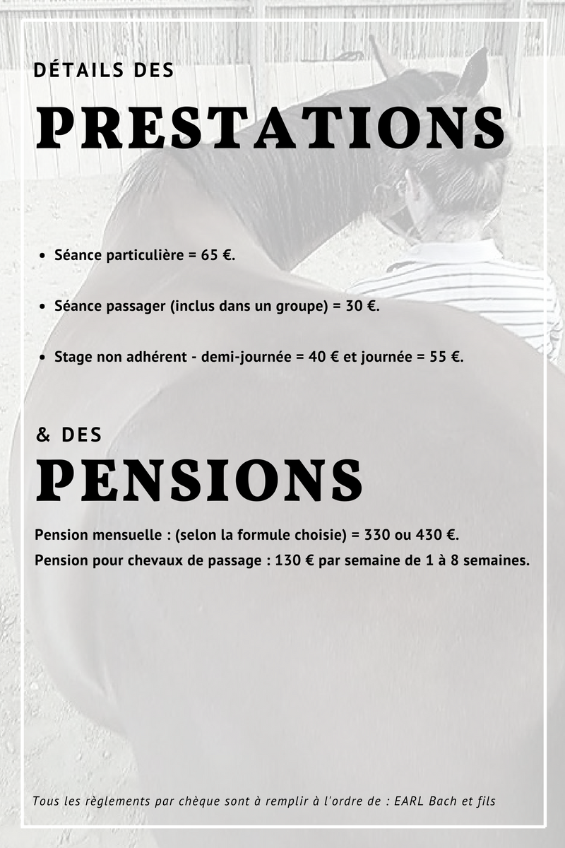 Tarifs pensions 20172018